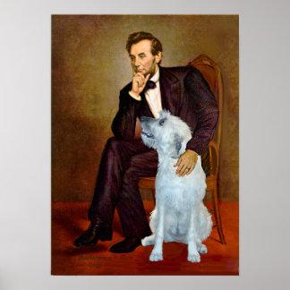 Irish Wolfhound 4 - Lincoln Print