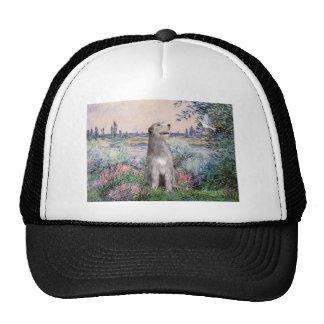 Irish Wolfhound 6 - By the Seine Trucker Hat