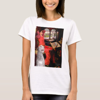 Irish Wolfhound 6 - Lady of Shalotte T-Shirt