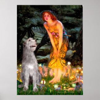 Irish Wolfhound 6 - MidEve Print