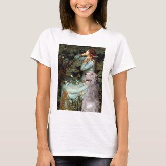 Irish Wolfhound 6 - Ophelia Seated T-Shirt