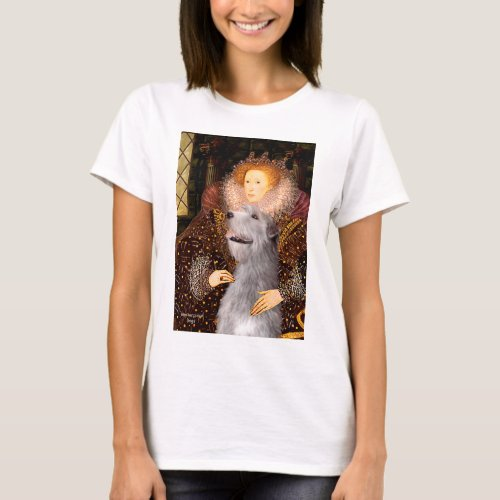 Irish Wolfhound 6 _ Queen T_Shirt