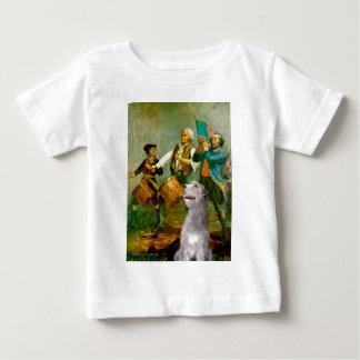 Irish Wolfhound 6 - Spirit of 76 Baby T-Shirt