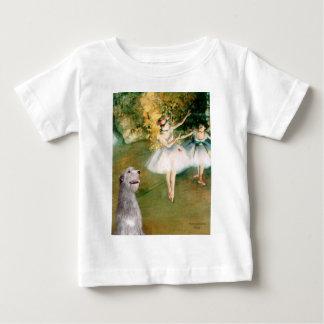Irish Wolfhound 6 - Two Dancers Baby T-Shirt