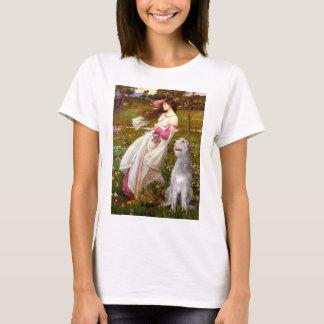 Irish Wolfhound 6 - Windflowers T-Shirt