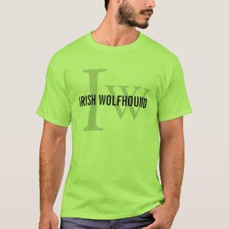 Irish Wolfhound Breed Monogram T-Shirt