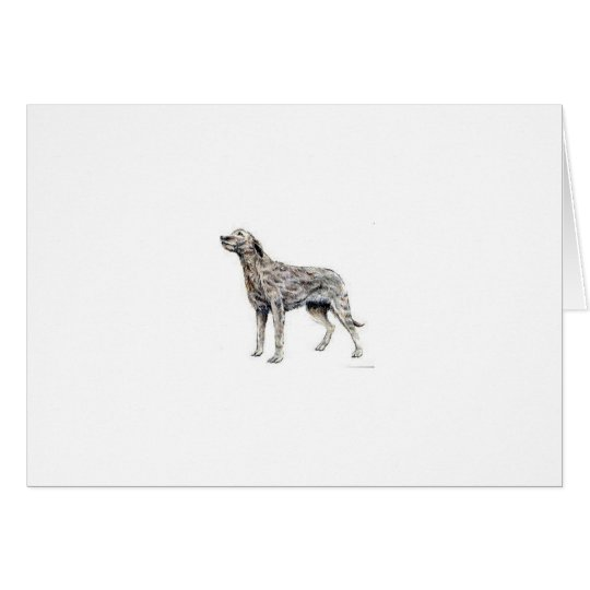 Irish Wolfhound Card