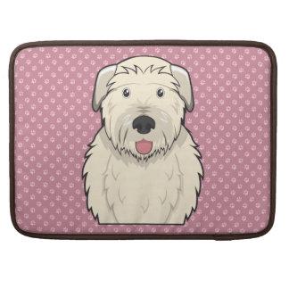 Irish Wolfhound Cartoon MacBook Pro Sleeve