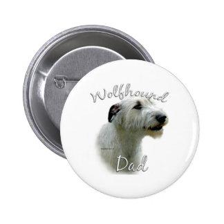 Irish Wolfhound Dad 2 Buttons