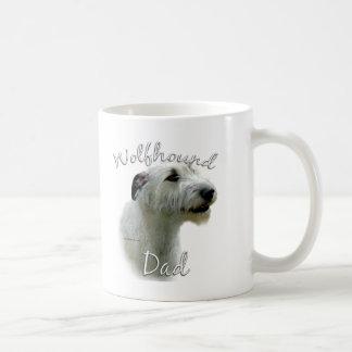 Irish Wolfhound Dad 2 Coffee Mugs