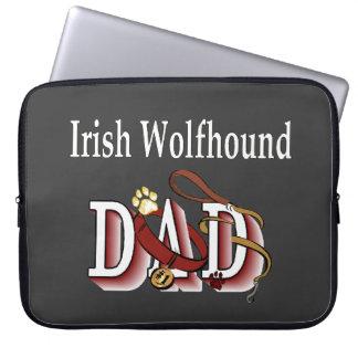 Irish Wolfhound Dad Computer Sleeve