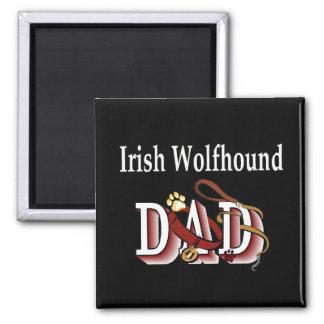 Irish Wolfhound dad Magnet