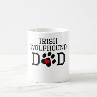 Irish Wolfhound Dad Mugs