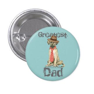 Irish Wolfhound Dad Pinback Button