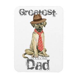 Irish Wolfhound Dad Rectangular Photo Magnet