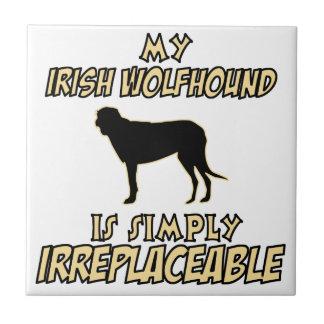 Irish wolfhound DOG designs Ceramic Tile
