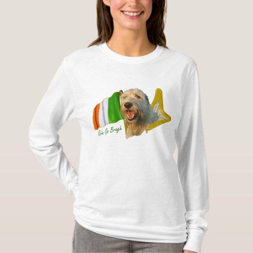 Irish Wolfhound Erin Go Bragh T_Shirt