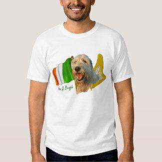 Irish Wolfhound Erin Go Bragh Tee Shirt