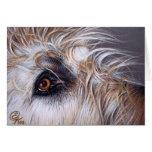 Irish Wolfhound Greeting Card