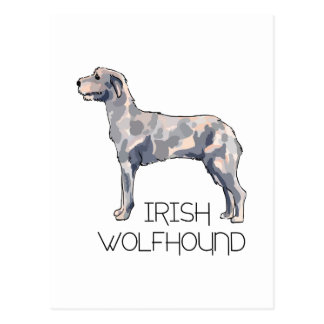 IRISH WOLFHOUND LETTERS POST CARDS