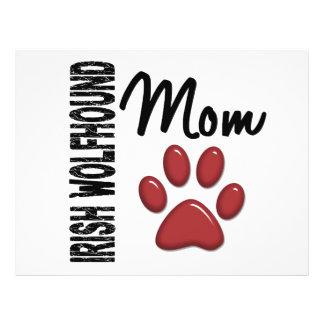 Irish Wolfhound Mom 2 Full Color Flyer
