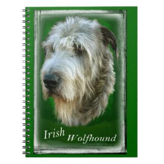 Irish Wolfhound Note Book