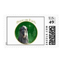 Irish Wolfhound Peace Postage