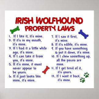IRISH WOLFHOUND PL2 POSTERS