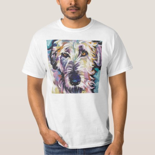 Irish Wolfhound Pop t Shirt