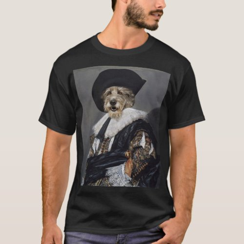 Irish Wolfhound Renaissance Dog Art T_Shirt