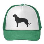 Irish Wolfhound Silhouette Trucker Hat