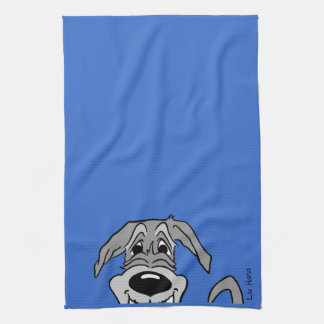 Irish Wolfhound Smile Kitchen Towel