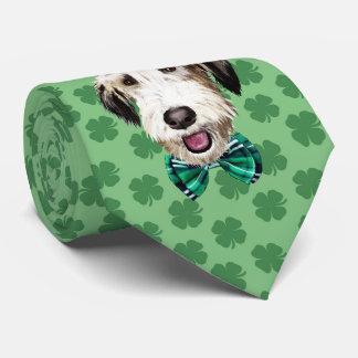 Irish Wolfhound St. Patrick's Day Tie
