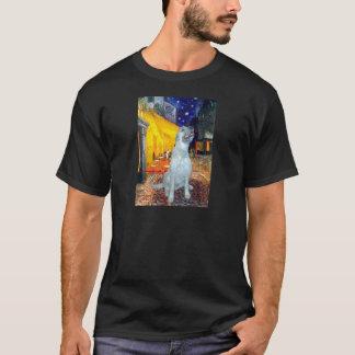 Irish Wolfhound - Terrace Cafe T-Shirt