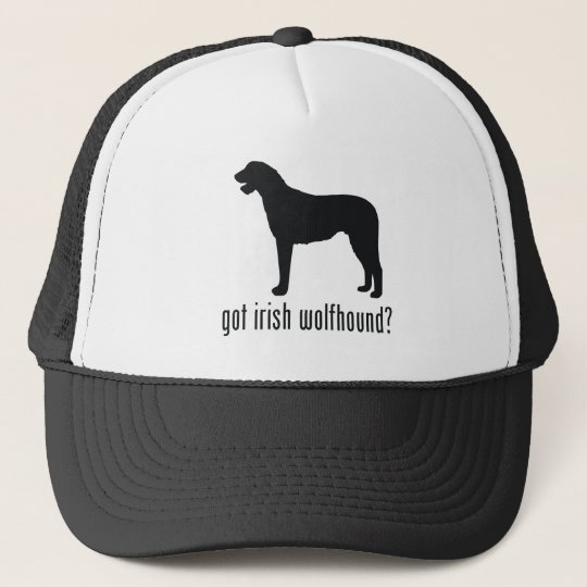 Irish Wolfhound Trucker Hat