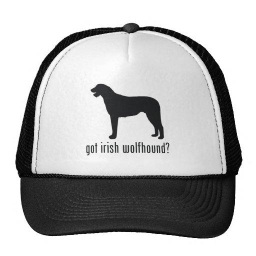 Irish Wolfhound Trucker Hat
