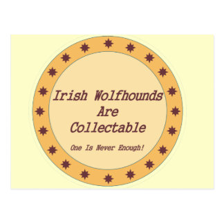 Irish Wolfhounds Are Collectable Postcard