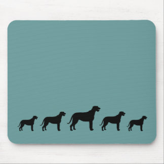 Irish Wolfhounds Mouse Pads