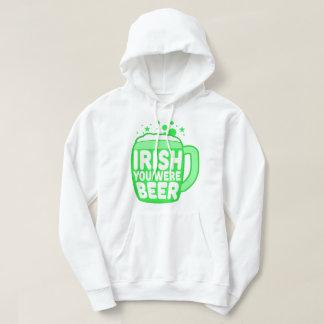 Irish You Were Beer Hoodie