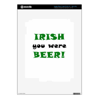 Irish You Were Beer iPad 3 Skins