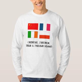 IrishFlag, Polish_Flag, China_flag, France_Flag... T-Shirt