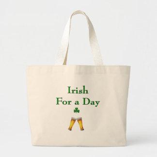 IrishForADay Large Tote Bag
