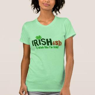 Irishish Irlandés-ish bebo como soy irlandés Playeras