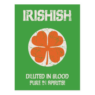 Irishish Postcard