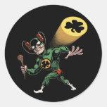IrishMan! Classic Round Sticker
