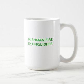 Irishman Fire Extinguisher Coffee Mug