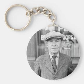 Irishman in Omaha, 1930s Keychain