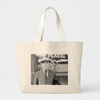 Irishman in Omaha, 1930s Large Tote Bag