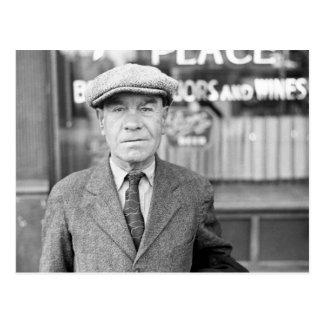 Irishman in Omaha, 1930s Postcard