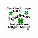 Irishman - You Can Always Tell... Post Card